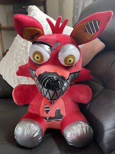 "FNAF Foxy FUNKO 23"" Plush Nightmare Five Nights at Freddy's Jumbo Large Red"