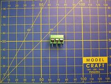 10pcs / Bornier PCB 3 PIN pas 5.08 mm 3 connecteurs à vis / contact 10 A-200 V