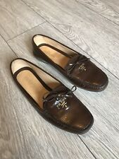 Prada Milano Womens Loafers Calzatura Donna 39 Moccasins Patent Leather 6