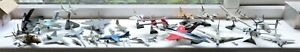 Diecast Military planes & helicopter Collection Harrier, Mig. F16, Jaguar x 21