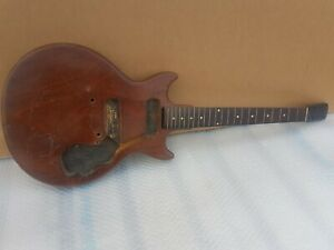 1962 GIBSON MELODY MAKER USA - 42 mm wide nut -  50's LES PAUL FINGERBOARD