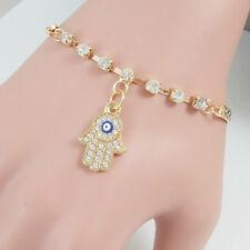 Hamsa Khamsa Chamsa Hand Charm String Bracelet Lucky Evil Eye Kabbalah