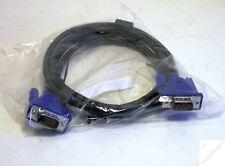k_ VGA Kabel NEU von DELL ca. 1,8m Stecker-Stecker m-m analog Monitor blau  _km