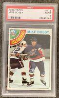 1978 1979 Topps Mike Bossy PSA 9 RC ROOKIE MT Mint #115 Islanders 4x Stanley Cup