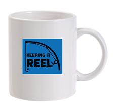Keeping It Reel Personalised Funny Mug Fishing Mens Carp Sport Tackle Bait