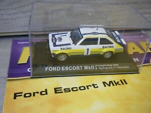 IXO DEAGOSTINI RALLY CAR 1979 FORD ESCORT MKII 1/43 SCALE CAR+MAGAZINE ISSUE 52