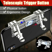 Mobile Phone Gaming Trigger Fire Button Shooter Handle for PUBG L1R1 IOS Android