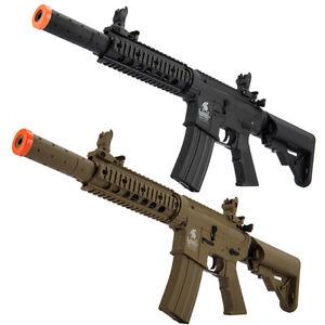 Lancer Tactical Gen2 M4 CQB RIS SD AEG Airsoft Rifle w/ Battery & Charger LT-15