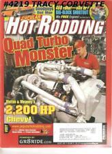 August 2001 Popular Hot Rodding Quad Turbo Monster 2200HP Big-Block 460 Ford