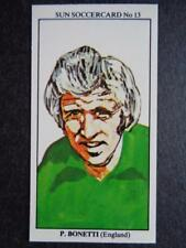 The Sun Soccercards 1978-79 - Peter Bonetti - England #13