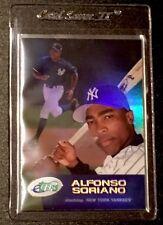 2001 eTopps #145 Alfonso Soriano - Yankees Baseball #/1699 In Hand: FREE SHIP ⚾️