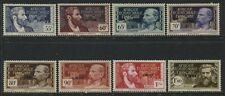 French Equatorial Africa 1940 overprinted LIBRE various values mint o.g.