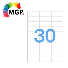 300 Sheets 30 Labels per page 9000 Labels 64×26.7mm A4 Office Mailing Amazon FBA