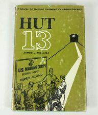 Hut 13 Marine Training at Parris Island James Mollica Hardcover 1st Edition OOP