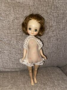 """VINTAGE 1950S 8"""" BETSY MCCALL Doll in Chemise American Character"""