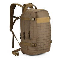 30L Camping Hiking Backpack Military Tactical Rucksack MOLLE System Waterproof