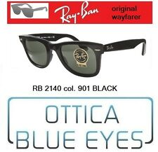Occhiali da Sole RAYBAN ORIGINAL WAYFARER RB 2140 NERO CLASSIC 901 BLACK Sunglas