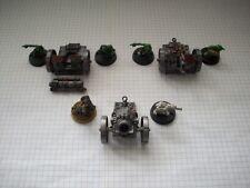 Orks Mek Guns métal OOP Vintage pour W40K