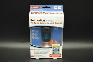 New iChoice Smart Pulse Oximeter Relaxation Coach Bluetooth Heart Rate & Oxygen