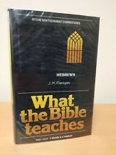 What the bible teaches Hebrews Ritchie new testament Commentaries