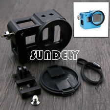 Aluminium Alloy Frame Protective Housing Case + Lens Cap for GoPro Hero 5 Black