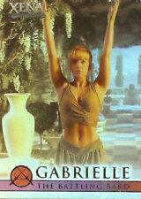 Xena Battling Bard G7 Season 4 and 5 Renee OConnor as Gabrielle insert card