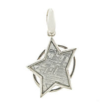 Starborn Creations Sterling Silver Muonionalusta Meteorite Star Pendant EP0007
