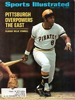 1971 8/2 Sports Illustrated magazine, Willie Stargell, Pittsburgh Pirates GOOD