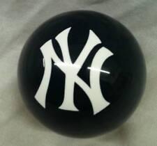 New MLB Navy New York YANKEES Baseball Billiard Pool Cue Ball FREE SHIPPING !