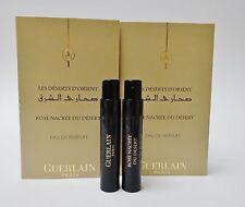 GUERLAIN LES D'ESERTS D'ORIENT Rose Nacree Du Desert EDP 1ML Sample Spray X 2
