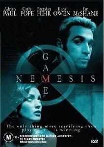 Nemesis Game (DVD, 2005) Thriller Mystery REG 4 AUSTRALIA