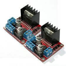 2x L298N Dual H Bridge DC Stepper Motor Driver Controller Board Module Arduino
