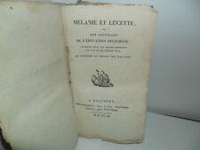 Mélanie et Lucette, ou Les Avantages de l'Education Religieuse - Poitiers, 1811