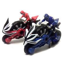 """Power Rangers Samurai 8"""" Motos & Rider figuras, muy buen estado Nice!"""