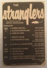 More details for the stranglers music press gig/tour ad ex hugh jj dave greenfield jett black nme