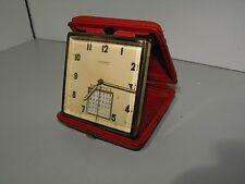 "Rare Swiss Made Rosemont 7 Jewels Auto Calendar Windup Alarm Clock In ""VGWO"""