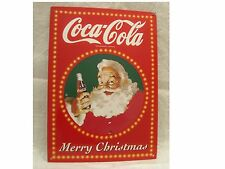 COCA COLA TRADEMARK-ORIGINAL MERRY CHRISTMAS 40 cm x 28 cm HEAVEN PORCELAIN SIGN