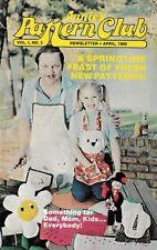 Annie's Pattern Club Magazine April 1980 Vol 1 Number 2
