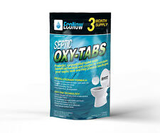 Septic Oxy-Tabs Proper Septic System Operation – 3 Month Supply