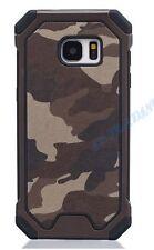 Camouflage Schutz-Hülle Army Military Case Bundeswehr Cover + Panzerglas Samsung