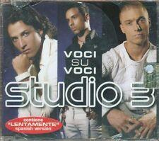 Studio 3 - Voci Su Voci 2 Tracks Cd Sigillato
