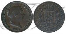 España - Monedas Isabel II- Año: 1862 - numero 00067 - MBC 10 Centimos de Real 1