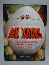 Dinosaurs - The Complete First and Second Seasons (DVD, 2006, 4-Disc Set)