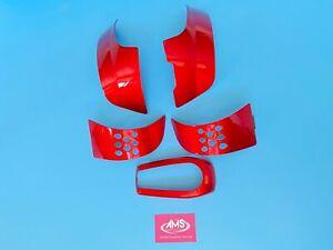 Pride GoGo Go Go Elite Traveller + Red Coloured Body Panels / Inserts / Infills