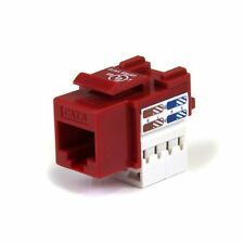 Startech.com 110 Punch Type Cat. 6 Keystone Jack - Network Connector - Rj-45,
