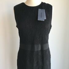 COUNTRY ROAD : NEW! SZ L,XL TRENERY floral lace dress black 14,16 [CR LOVE]
