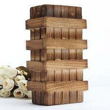 1*Magic Box Chinese Vintage Classic Brain Magic Trick Wooden Puzzle Box #YA9