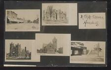 1907 Rp Postcard Hicksville Oh/Ohio Multi-View