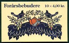 DENMARK HS100 (1150) Spring Birds and Flowers booklet, VF