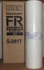 Riso S-2817  Risograph  FR Master 96W  für FR 3910 3950 RP 210L 215 1 stk